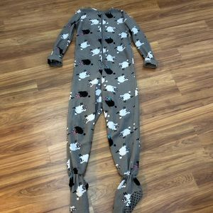 K C Adult Size Small Sheep Onesie